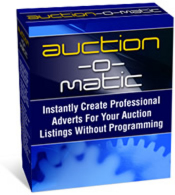 Product picture Automatically create Auction Ads