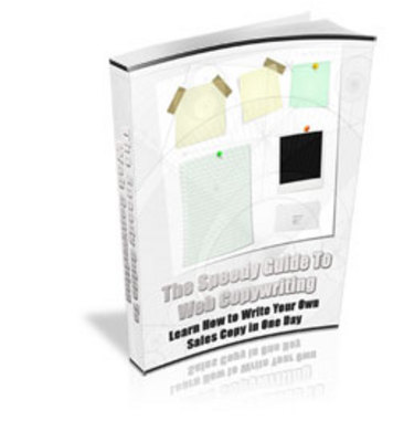 Product picture Learn How to Write Your Own Sales Copy in One Day